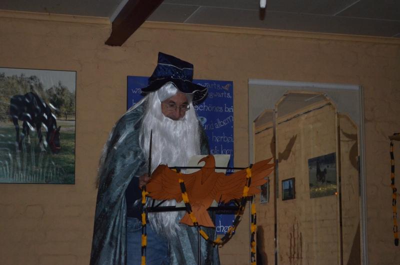 Begrüßungsrede von Professor Dumbledore