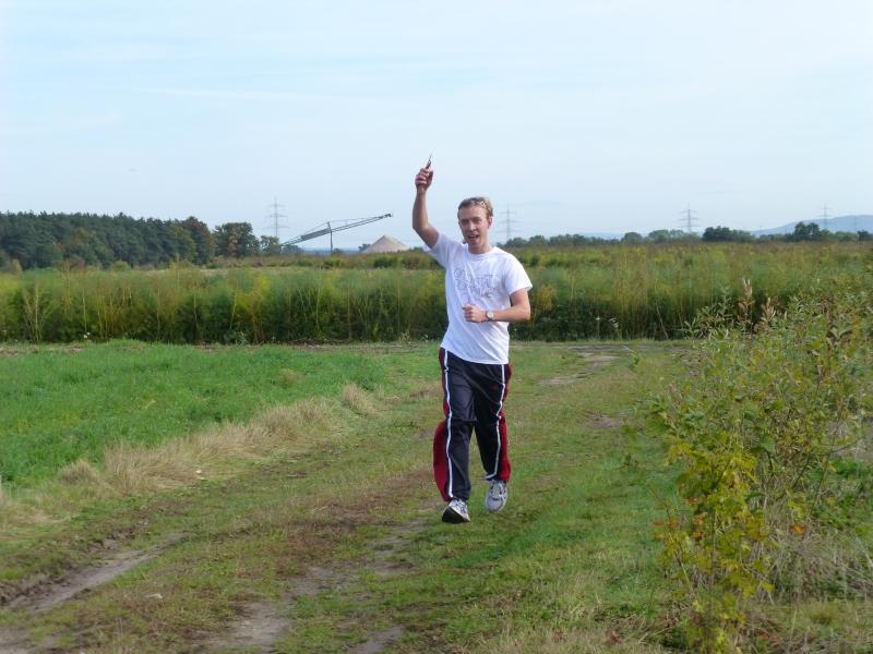Der Sieger der Läufer: Marc