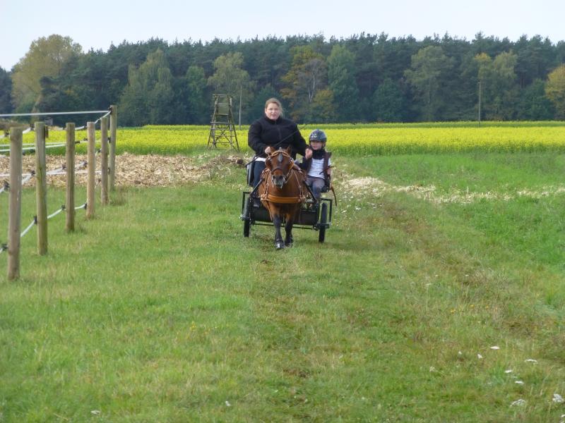Die fünftplatzierten der Pferdesportler: Nadine und Samira