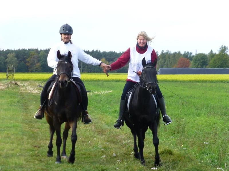 Sieger der Pferdesportler: Peter und Sabine